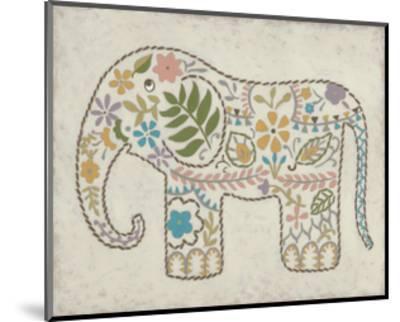 Laurel's Elephant II-Chariklia Zarris-Mounted Art Print