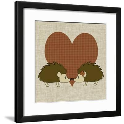 You and Me III-Pam Ilosky-Framed Art Print