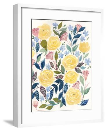 Unbound Blossoms II-Grace Popp-Framed Art Print