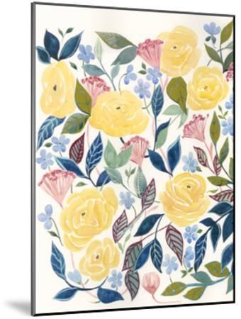 Unbound Blossoms I-Grace Popp-Mounted Art Print