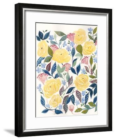 Unbound Blossoms I-Grace Popp-Framed Art Print