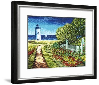Lighthouse Retreat II-Carolee Vitaletti-Framed Art Print