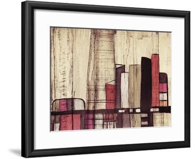 Inner City I-Irena Orlov-Framed Art Print