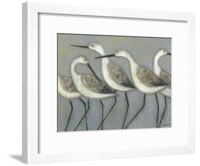 Shore Birds I-Norman Wyatt Jr^-Framed Art Print