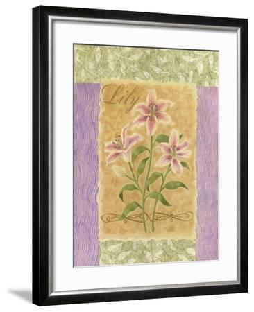 Sweet Lily-Louise Max-Framed Art Print