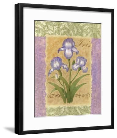 Sweet Iris-Louise Max-Framed Art Print