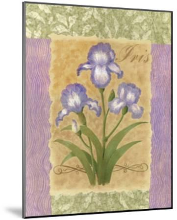 Sweet Iris-Louise Max-Mounted Art Print