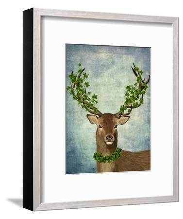 Green King-Fab Funky-Framed Art Print