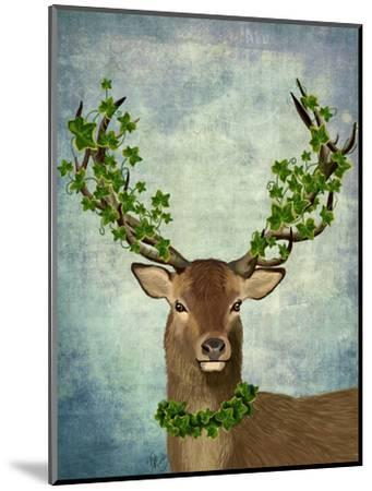 Green King-Fab Funky-Mounted Art Print