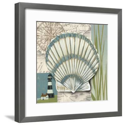 Seaside Shell II-Chariklia Zarris-Framed Art Print