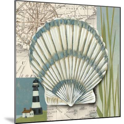 Seaside Shell II-Chariklia Zarris-Mounted Art Print