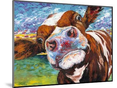 Curious Cow I-Carolee Vitaletti-Mounted Art Print