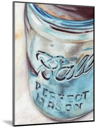 Mason Jar I-Redstreake-Mounted Art Print