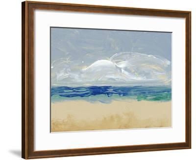 Eastern Shore II-Alicia Ludwig-Framed Art Print