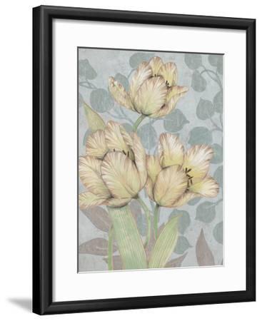 Trois Fleurs II-Tim OToole-Framed Art Print