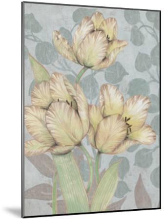 Trois Fleurs II-Tim OToole-Mounted Art Print