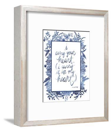 Love Quote III-Grace Popp-Framed Art Print