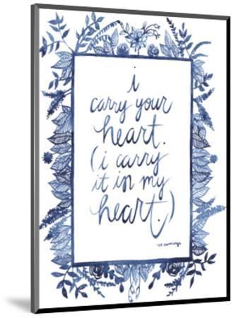 Love Quote III-Grace Popp-Mounted Art Print