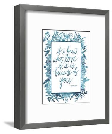 Love Quote II-Grace Popp-Framed Art Print