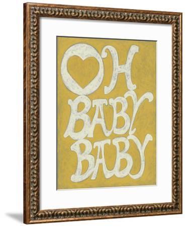 Oh Baby, Baby-Chariklia Zarris-Framed Art Print