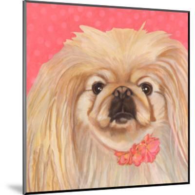 Dlynn's Dogs - Pinky-Dlynn Roll-Mounted Art Print
