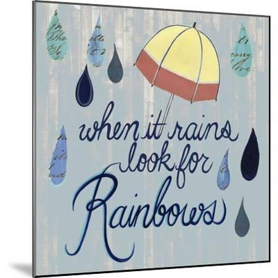 Rainy Day I-Grace Popp-Mounted Art Print