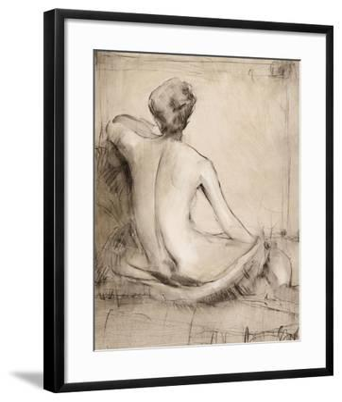 Neutral Nude Study I-Tim O'toole-Framed Art Print