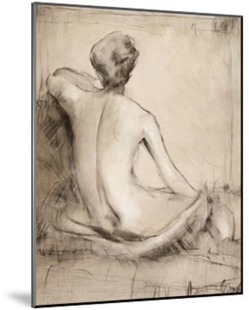 Neutral Nude Study I-Tim O'toole-Mounted Art Print