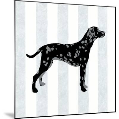 Dalmation in Neutral-Christine Lucas-Mounted Art Print