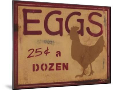 Eggs-Norman Wyatt Jr^-Mounted Art Print