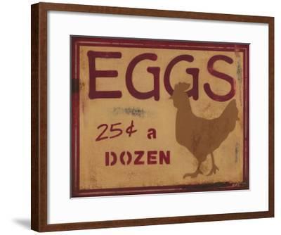Eggs-Norman Wyatt Jr^-Framed Art Print