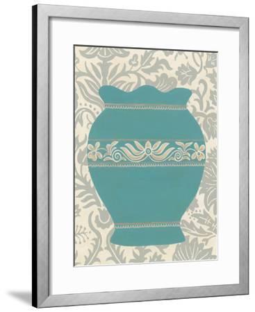 Pottery Patterns IV-June Erica Vess-Framed Art Print