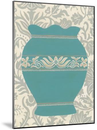 Pottery Patterns IV-June Erica Vess-Mounted Art Print