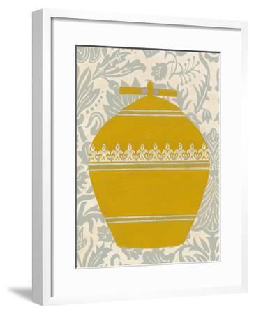 Pottery Patterns II-June Erica Vess-Framed Art Print