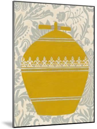 Pottery Patterns II-June Erica Vess-Mounted Art Print
