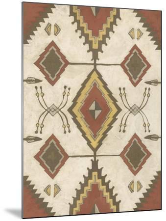 Non-Embellished Native Design I-Megan Meagher-Mounted Art Print