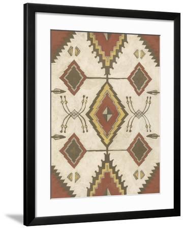 Non-Embellished Native Design I-Megan Meagher-Framed Art Print
