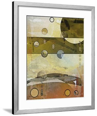 Thru the Atmosphere II-James Burghardt-Framed Art Print