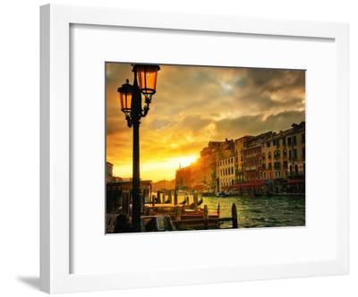 Venice in Light IV-Danny Head-Framed Art Print