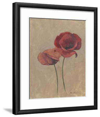 Blooms and Stems II-Marietta Cohen-Framed Art Print