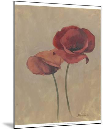 Blooms and Stems II-Marietta Cohen-Mounted Art Print
