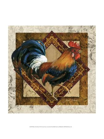 Ruler of the Roost-Janet Stever-Framed Art Print