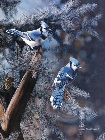 A Touch of Blue-Kevin Daniel-Art Print