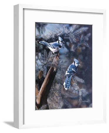 A Touch of Blue-Kevin Daniel-Framed Art Print