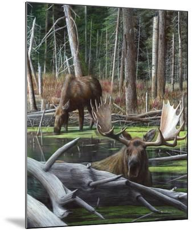 At River's Edge I-Kevin Daniel-Mounted Art Print