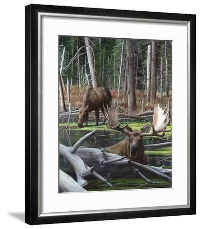 At River's Edge I-Kevin Daniel-Framed Art Print