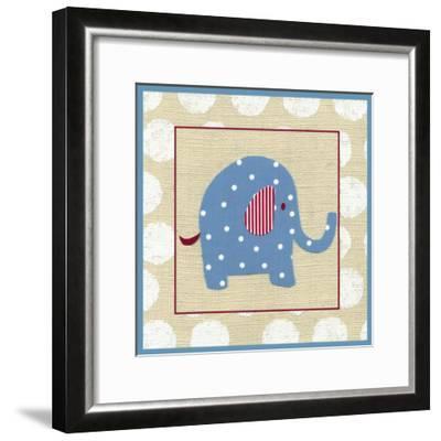 Katherine's Elephant-Chariklia Zarris-Framed Art Print