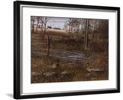 Backroad Gathering-Kevin Daniel-Framed Art Print