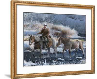Heading Home-Kevin Daniel-Framed Art Print