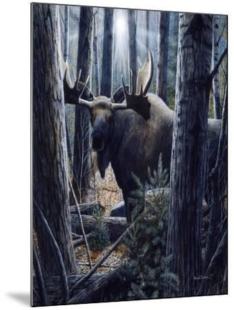 King of the Northwoods-Kevin Daniel-Mounted Art Print